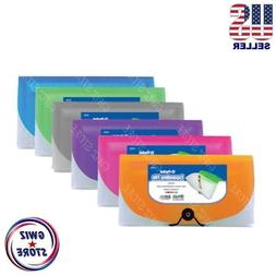 13 Pocket Coupon Organizer Holder Expanding File Wallet Orga