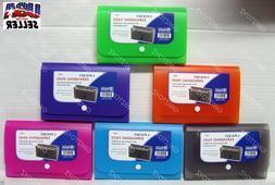 5 Pocket  Bazic Expanding File & Coupon Organizer Check Size