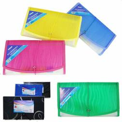 7 Pocket Coupon Organizer Holder Expanding File Wallet Organ