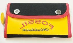 Fossil card wallet clutch coupon holder organizer pouch zipp
