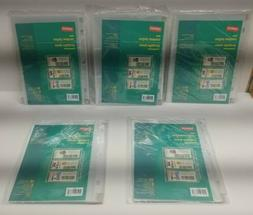 Staples Clear Coupon Holder 10 Pages Small Binder/Organizer