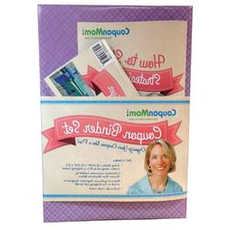 COUPON MOM ORGANIZING BINDER - PURPLE DESIGN By Stephanie Ne