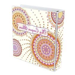 Coupon Organizer Binder Holder Book Album Glitter Women Larg