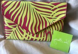 Vera Bradley Envelope Wallet Palm Fronds Organizer Coupons R