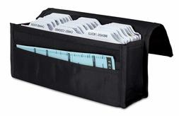 Grocery Coupon Organizer Expandable Divider Holder Wallet Bi