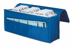 hannah direct Expandable Coupon Organizer in BRIGHT BLUE