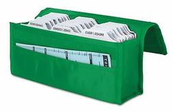 two hannah direct Expandable Coupon Organizer in GREEN