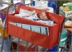hannah direct Expandable Coupon Organizer in RED