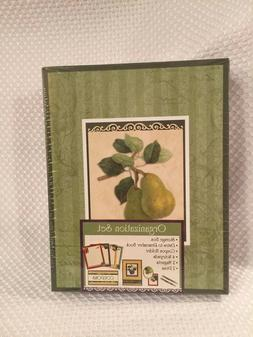 New Seasons Kitchen Organizer Set - Pear Design Coupon Holde