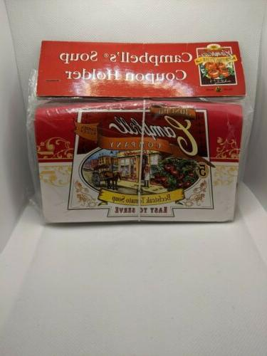campbells soup coupon holder organizer new in