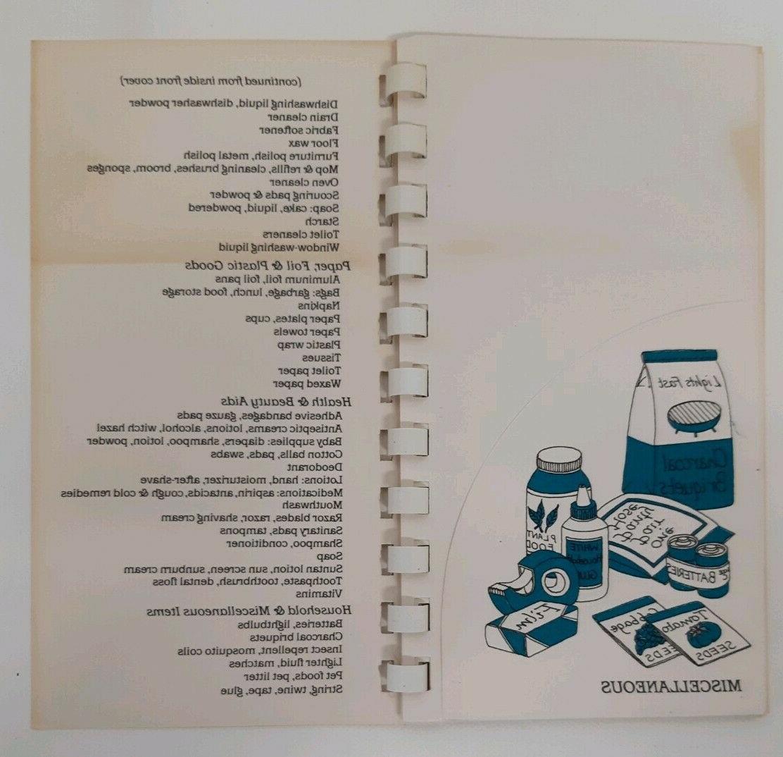 Coupon Book Pocket File Personal Organizer Extreme Vtg