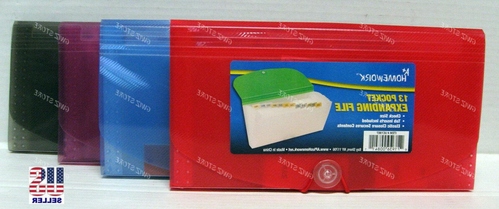 coupon organizer holder expanding file 13 pocket