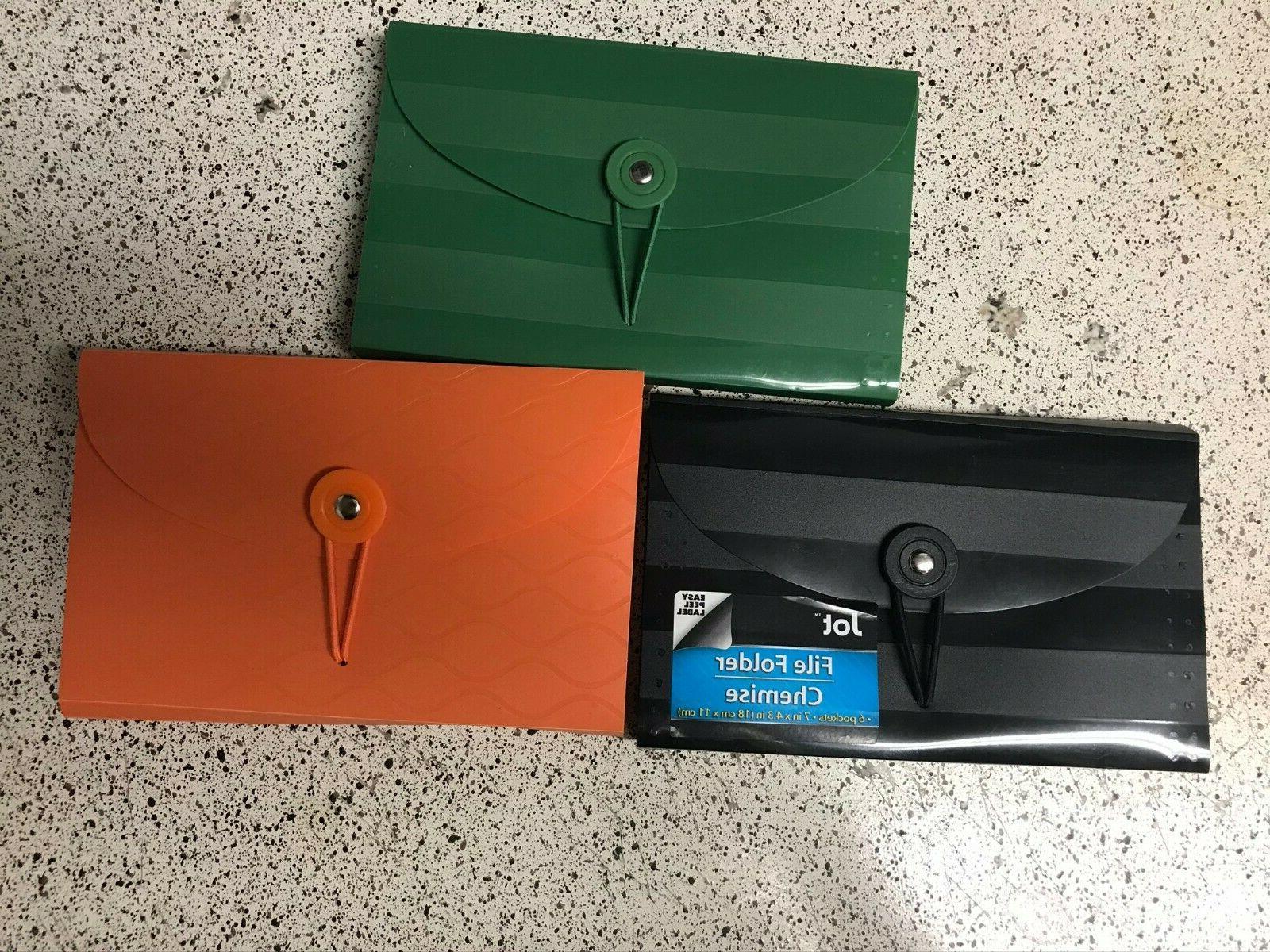 file folder chemise expanding 6 pockets 13