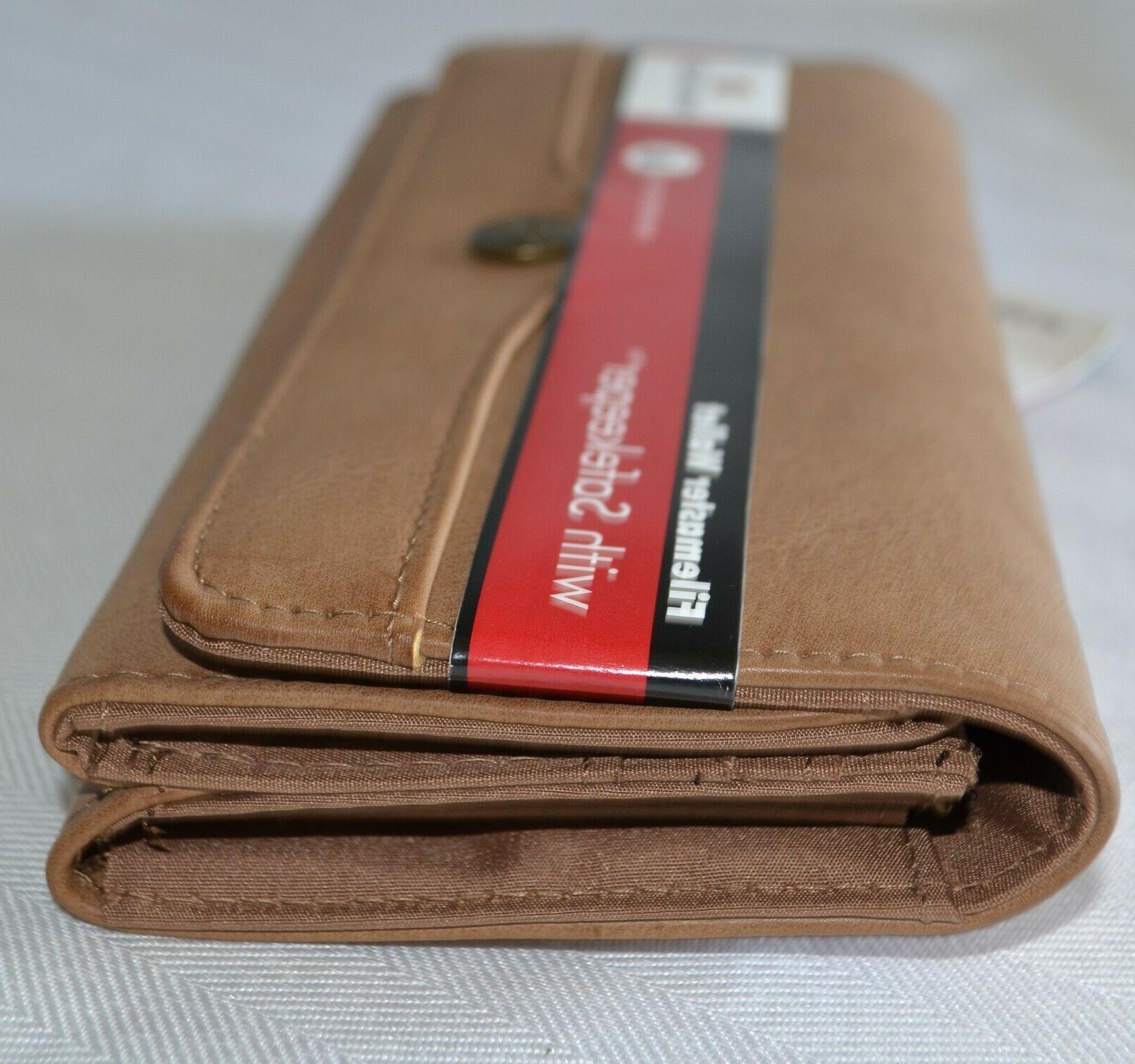 Mundi Wallet Clutch Brown Travel