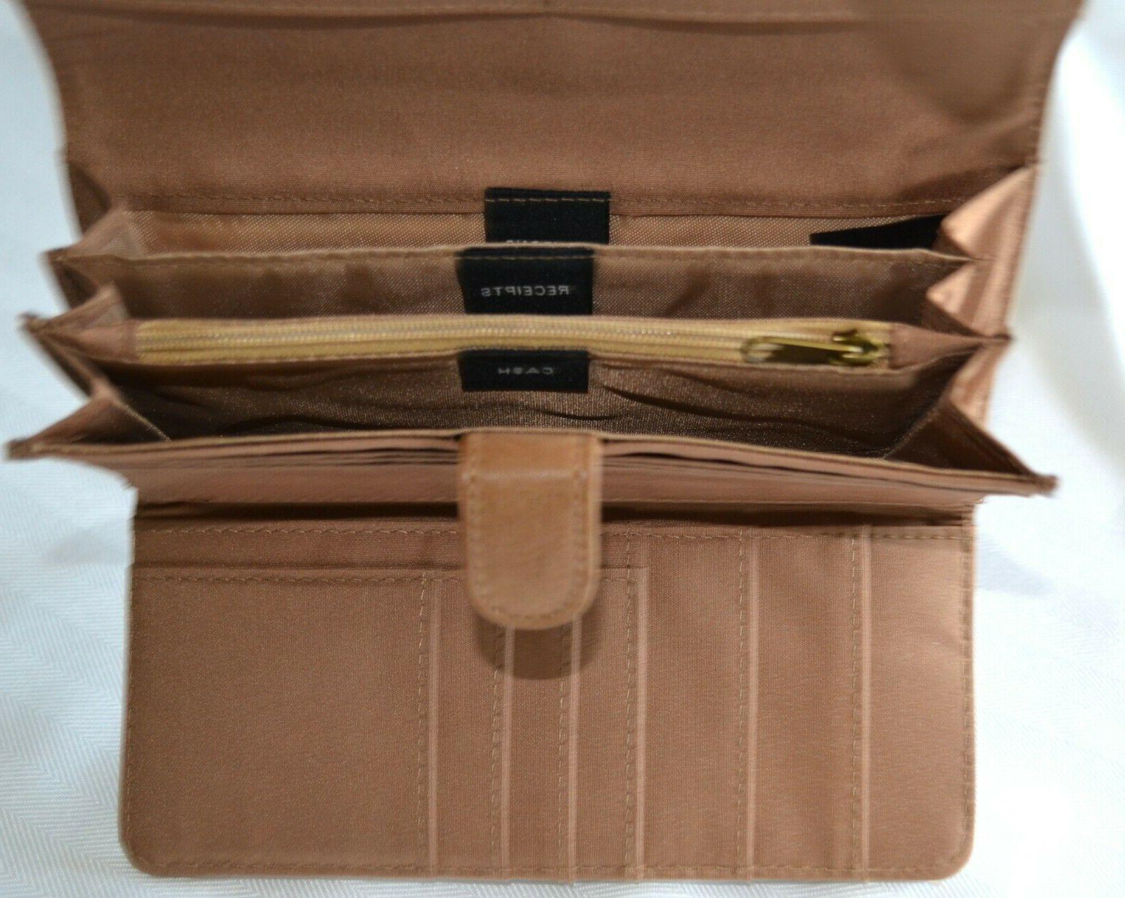 Mundi File Wallet Brown Travel Coupon