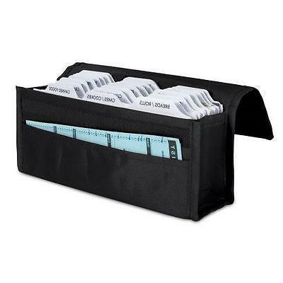 hannah direct Expandable Coupon Organizer in BLACK