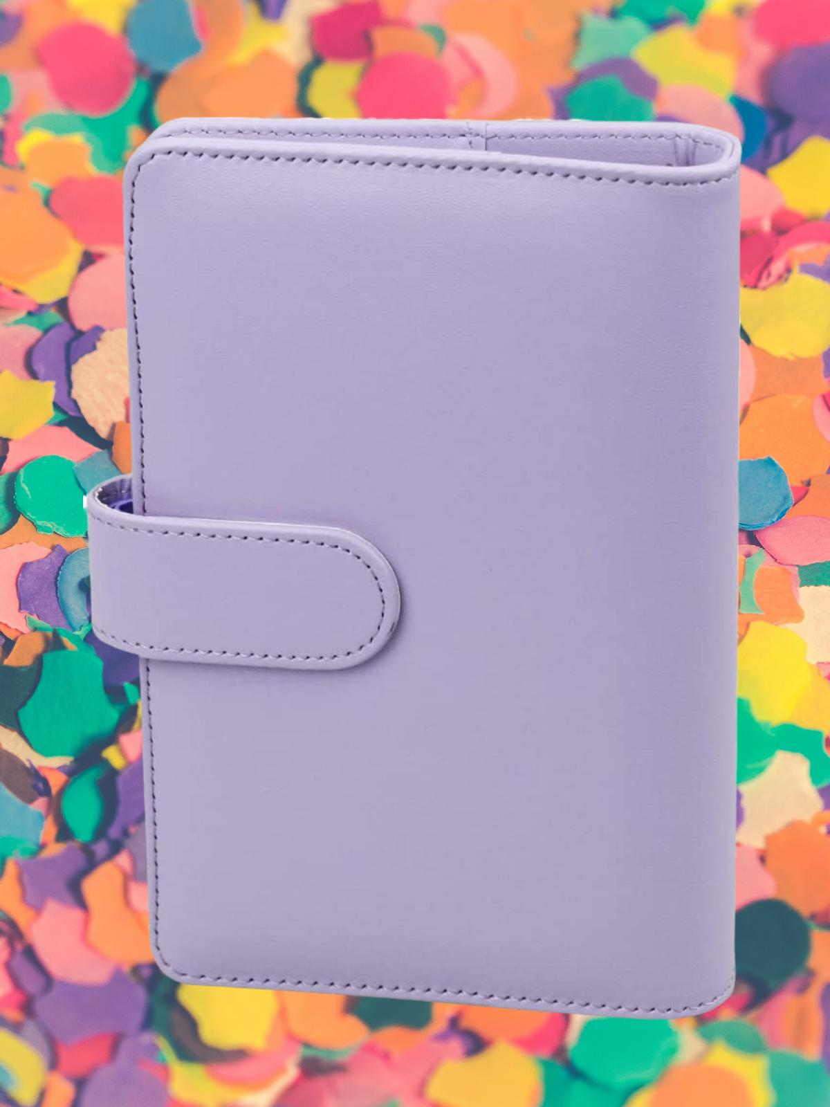 Leather money manager, coupon organizer