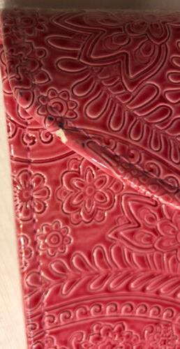 NWT Pink Paisley Looking Expandable w/ Matching Coupon