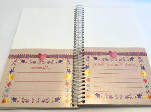 Vintage Coupon Bound Hearts Flowers