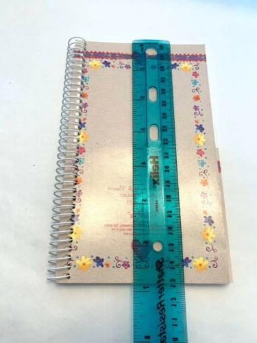 Vintage Coupon Spiral Bound Hearts Flowers Purse Size