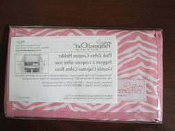 """NEW The Pampered Chef """"Help Whip Cancer"""" Pink Zebra Coupon H"""