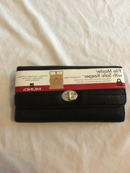 New Womens MUNDI FILE MASTER Wallet Organizer Coupon Receipt