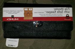 NWT***WALLET Mundi Women FILE MASTER Organizer Coupon Slots