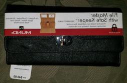 nwt wallet women file master organizer coupon