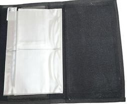 OFFICIAL R-BAG COUPON POUCH HOLDER - WITH WINDOW SLOTS BLACK