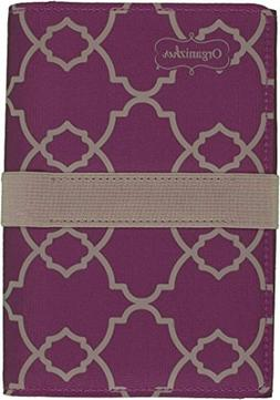 "Mead Organizher Coupon Organizer, 7-1/4"" x 5"", Purple Geo De"
