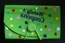 PERSONALIZED Coupon Holder!  DESIGN YOUR OWN keep your groce