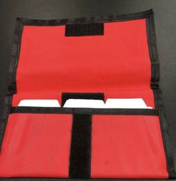 Red Hannah Hansen Coupon Organizer Holder Brand New Includes