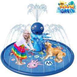 Blasland Sprinkler For Kids - Octopus Sprinkler Splash Mat 6