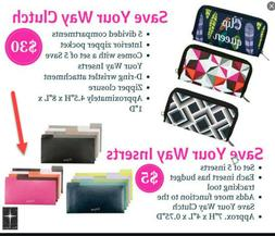 Thirty One Gifts 31 Save your Way Clutch Coupon Envelopes fo