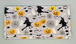 Vintage Halloween Fabric Envelope. Wallet. Organizer Case. C