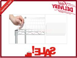 Wire Shelf Liners 18 X 48 Frosted Plastic Durable Wood Close