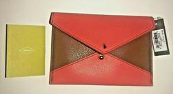 Women's Fossil Lava Sofia/Passport/Coupon/Clutch/CC's Envelo